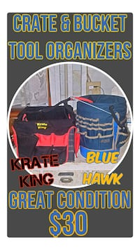 Crate & Bucket Tool Organizers - Krate King & Blue DuPont, 98327