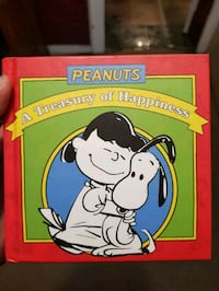 Peanuts A treasury of happiness book