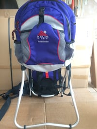 blue and white kelty kids pathfinder inversion table 39 km