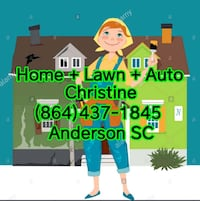 flower beds and gardens Anderson