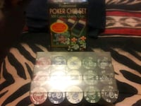 Brand new casino chips Duquesne