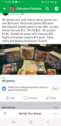 Wii games and such Port Colborne, L3K 5X1