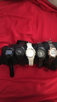 All 5 Baby G Watches Whittier, 90604