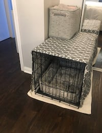 "30"" Dog Crate (cover included)"