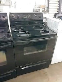 black 4-burner gas range oven San Antonio, 78237