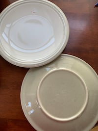 "Pfaltzgraff Cappuccino Set Of 4 Dinner Plates 11 1/8"".  Arlington, 22201"
