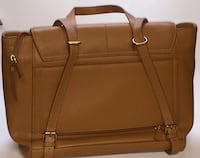 brown leather 2-way bag Sterling Heights, 48314