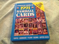 Complete Book of 1991 Baseball Cards
