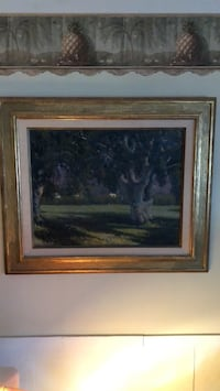 Oil Painting with Gold Frame Beachwood, 08722