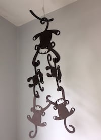 Lambs&Ivy Brown Monkey Wooden Nursery Sculptures Toronto, M4C