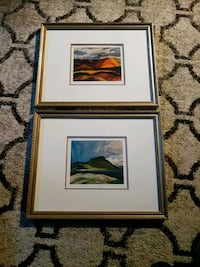 Franklin Carmichael Prints × 2