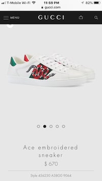 white and red Adidas low-top sneaker Stockton, 95207