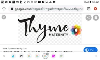 50$ THYME MATERNITY GIFT CARD