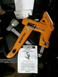 Bostitch manual flooring nailer