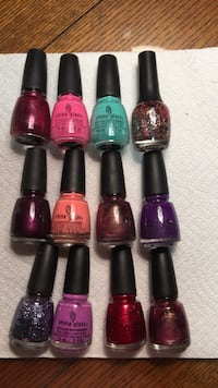 china glaze nail polish full Bottles three dollars each Harpers Ferry, 25425