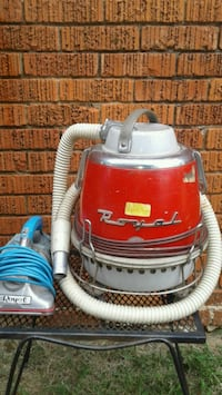 (2) VINTAGE  (ROYAL) VACUUM CLEANERS 1970s & 1950s