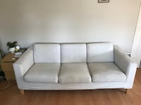 White Couch. 3 Seater. Vancouver, V5R 3S2