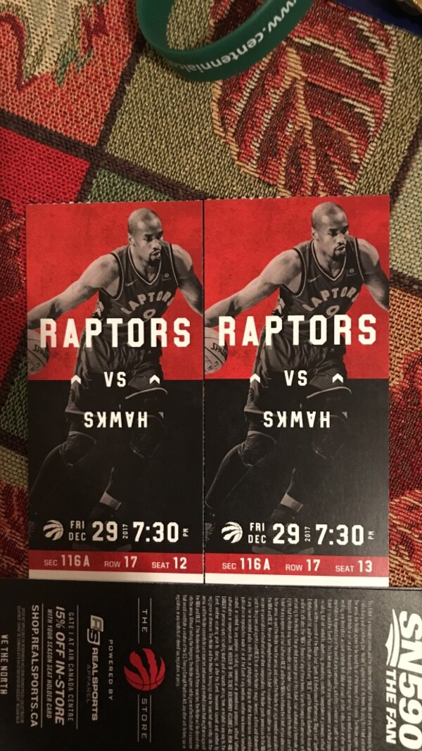 Raptors vs Hawks