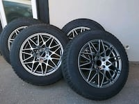 4 Toyo 235/65/18  with alloy rims and TPMS Toronto, M3B 2P9