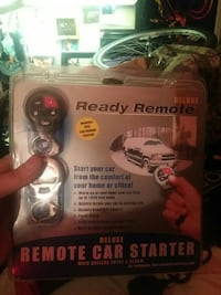black Deluxe Remote Car Starter with pack Victoria, V8W 1N3