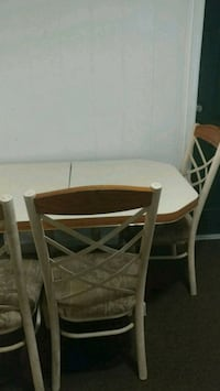 brown wooden table with two chairs Woodbridge, 22191
