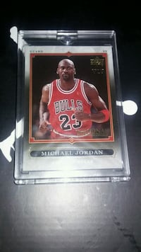 2007 Upper Deck Michael Jordan National VIP Card 1030 mi