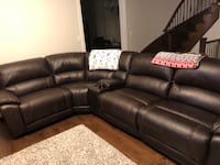 Beautiful Theatre Leather Sectional Kleinburg, L4H 3Z3