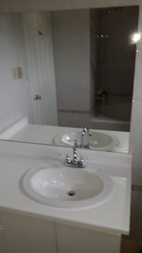 Bathroom vanity countertop, sink and faucets Mississauga, L4W 4R6