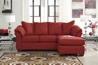 Darcy Salsa Chaise Sectional by Ashley Houston