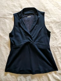 Blue top size extra small/ small like new