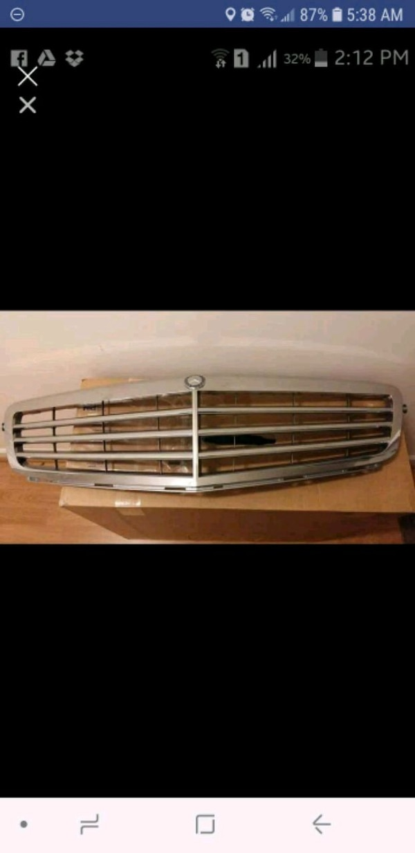 Mercedes Benz front grill - original new in box.