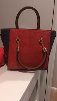 red leather 2-way handbag Kensington, 20895