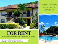 APT For Rent 2BR 2BA Lake Worth