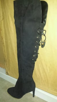 NEW SAM & LIBBY KNEE-HIGH SUEDE BOOTS SZ 6  Minneapolis, 55428