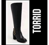 "New Women's Size 12 W Torrid Boots 20"" Calf Woodbridge, 22193"