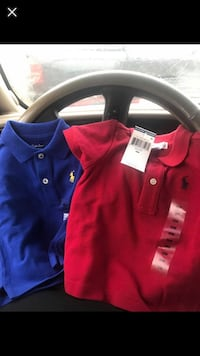 Brand new polo Shirts 6 months $12 each Golf Manor, 45237