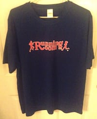 Running Room Royal Blue Tshirt Mens XL