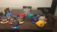 Snap backs and Fitted Hats, $5 each SnapBack $3 Fitted or $35 all together Citrus Heights, 95610