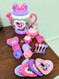 Minnie Mouse Tea party set Sterling, 20166