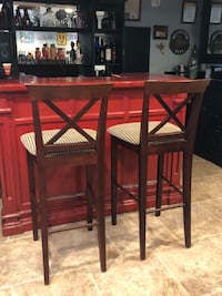 "2 bar stools 30"" to seat top Forest Hill, 21050"