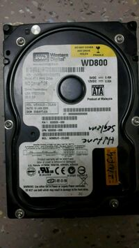 Western Digital hard disk