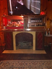 1970s Phono-Sonic Mid Century All in One, Bar, Electric Fireplace, Rad Middle River, 21220