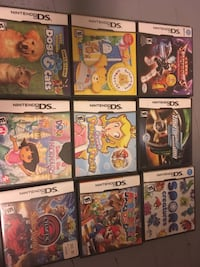 Assorted nintendo ds games Fort Erie, L0S 1S0