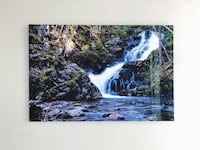 Beautiful Metal Canvas of Shannon Falls (90x60cm) Vancouver, V6B 6M4