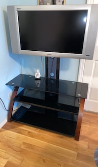 Television with stand included