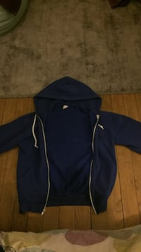 Zip-up bleu marine American apparel