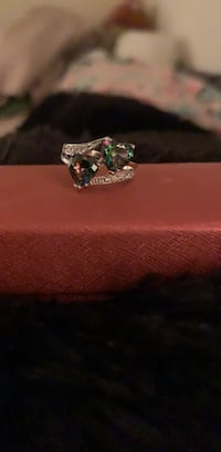CZ Double Heart Ring size 5 Albuquerque, 87114