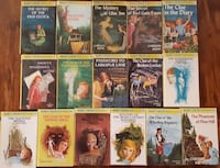 16 NANCY DREW hardcover Picture on Cover from the FLASHLIGHT SERIES excellent near mint condition #s  [TL_HIDDEN] , [TL_HIDDEN] 1 and 42  $4.00 each or $45 for the lot Pick-up in Newmarket Newmarket