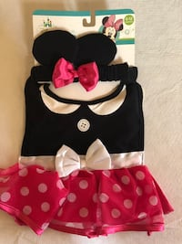 Minnie Mouse Bib and matching head band Charlotte, 28262