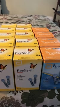 Attn Diabetics $4.00 each New Lancets 14 boxes Inwood, 25428